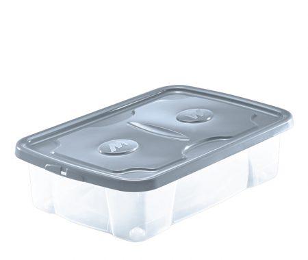 scatola plastica con coperchio e ruote mazzei home