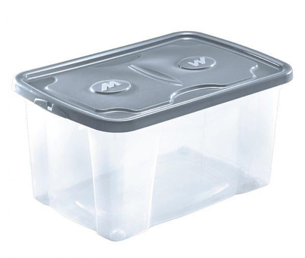 scatola con coperchio e ruote per riporre oggetti