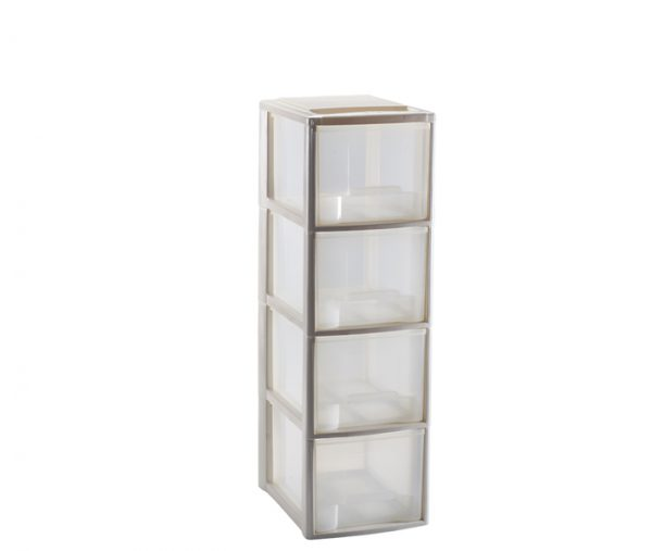 mini cassettiera formato A5 a 4 cassetti mazzei home