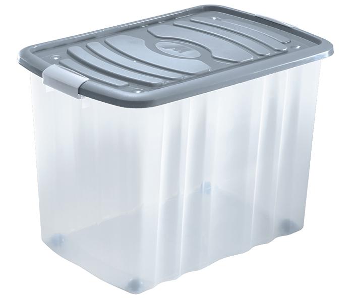 ampia scatola con coperchio e chiusure a scatto mazzei home