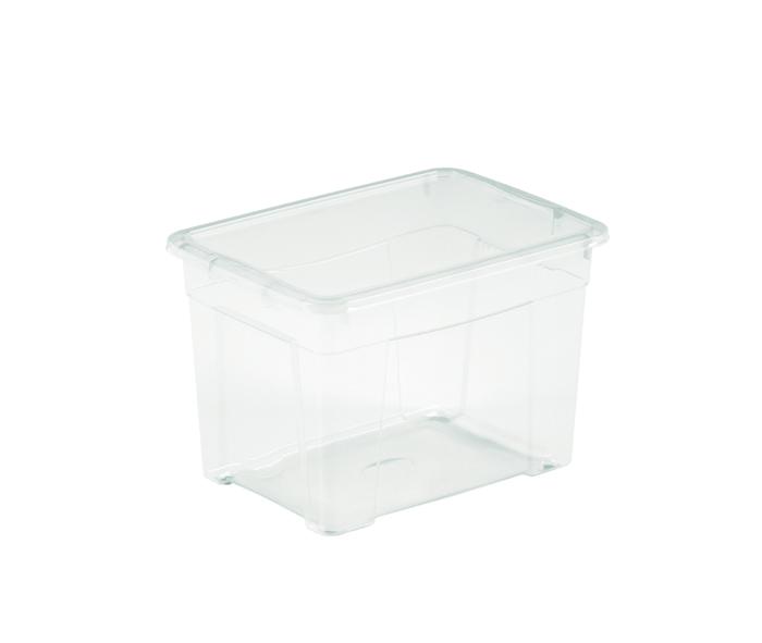 piccola scatola trasparente con coperchio di mazzei home