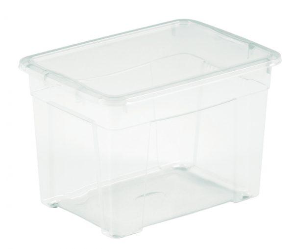 scatola trasparente con coperchio mazzei home