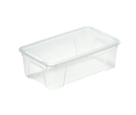 scatola trasparente con coperchio prodotta da mazzei home