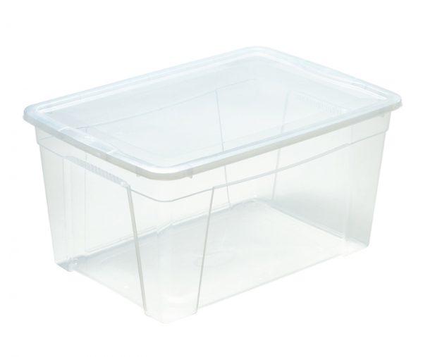 scatola trasparente per oggetti con coperchio mazzei home produce