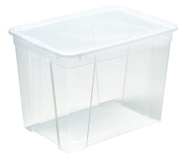 scatola trasparente per immagazzinare oggetti prodotta da mazzei home