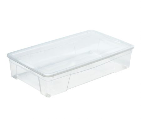 robusta scatola trasparente bassa e ampia produzione mazzei home