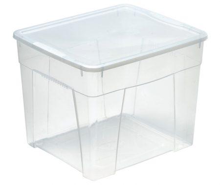 robusta scatola in plastica con coperchio mazzei home