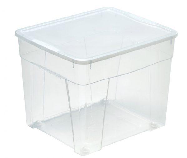 robusta scatola trasparente con coperchio produzione mazzei home