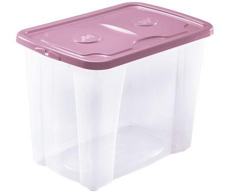 grande scatola tasparente con coperchio prodotta da mazzei home