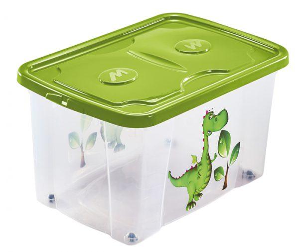 scatola per oggetti con stampa drago mazzei home