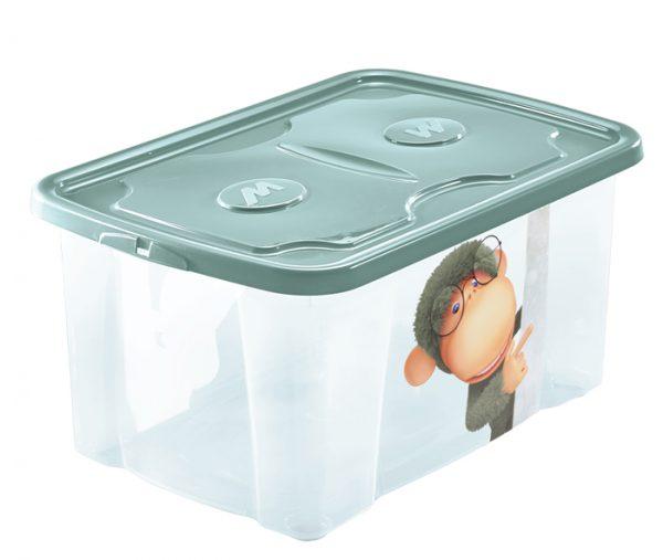 scatola roba bimbi con stampa colorata mazzei home