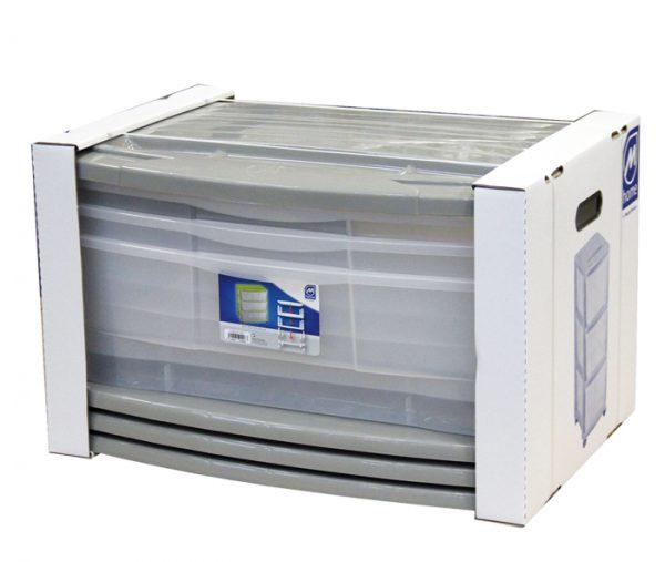 confezionamento cassettiera plastica mazzei home