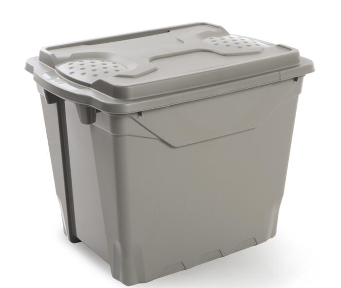 box con coperchio in plastica ecologica