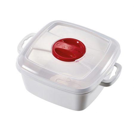 contenitore per microonde quadrato