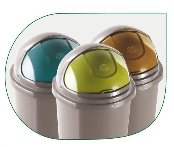 gamma colori contenitori con coperchio