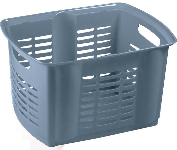 cesta impilabile in plastica per lavanderia mazzei home