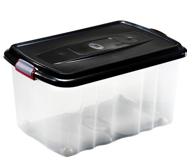 scatola in plastica con coperchio per brico mazzei home