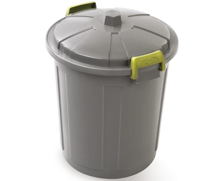 contenitore per spazzatura con coperchio e maniglie mazzei