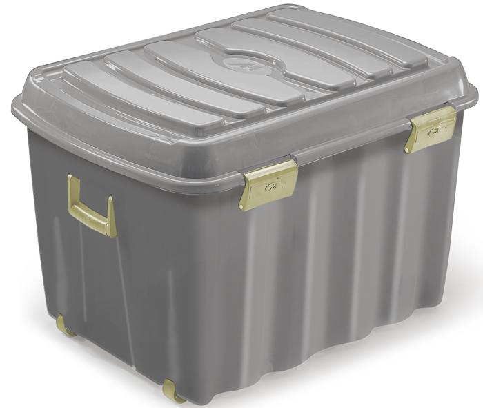 box con coperchio ruote e maniglie