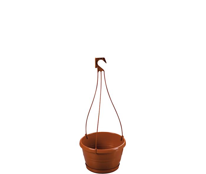 vaso con sottovaso e gancio