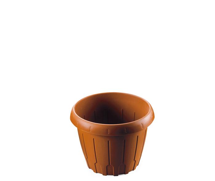 vaso per piante in plastica